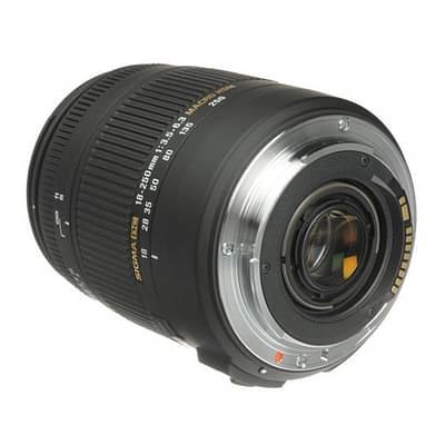 Sigma 18-250mm F3.5-6.3 DC Macro HSM