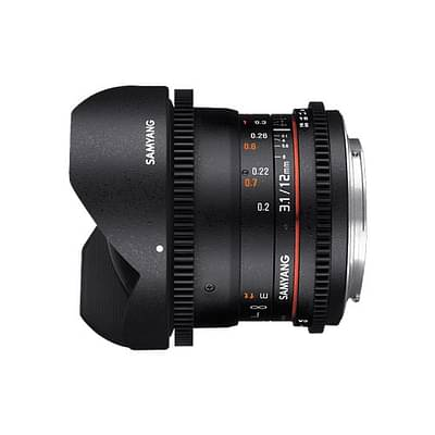 Samyang 12mm T3.1 VDSLR ED AS NCS Fisheye