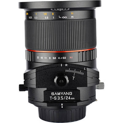 Samyang 24mm F3.5 ED AS UMC Tilt-Shift