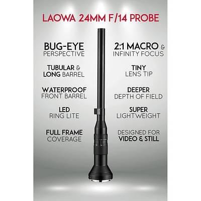 Laowa 24mm f/14 Probe Lens